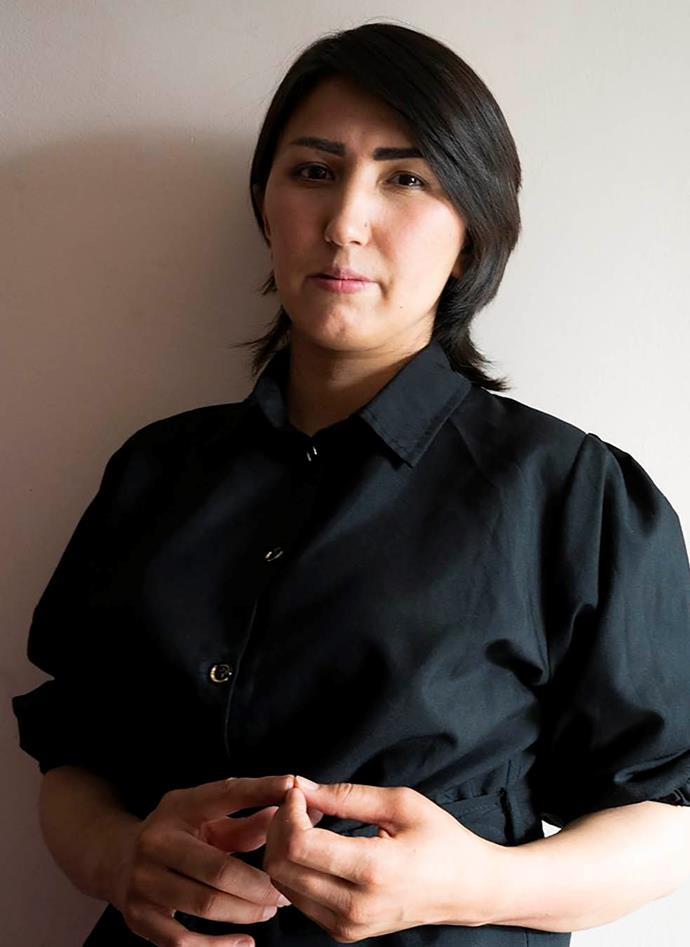 """""""They cannot win, we mustn't let them."""" Fatima Roshanian"""