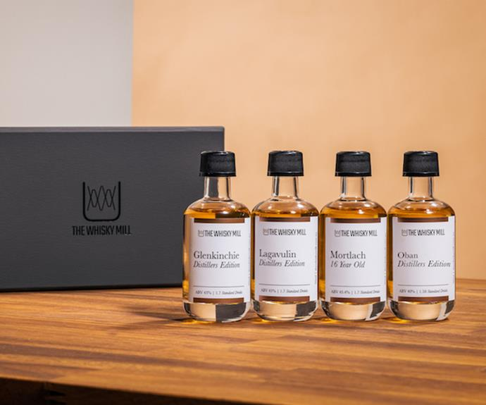 """**[The Whisky Mill virtual tasting](https://thewhiskymill.com.au/collections/gifting/products/tour-of-scotland-gift-pack-2-0