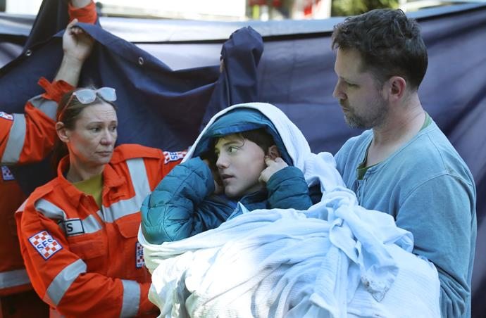 """The teenager was """"relatively unscathed"""" after spending two nights by himself in thick scrub"""