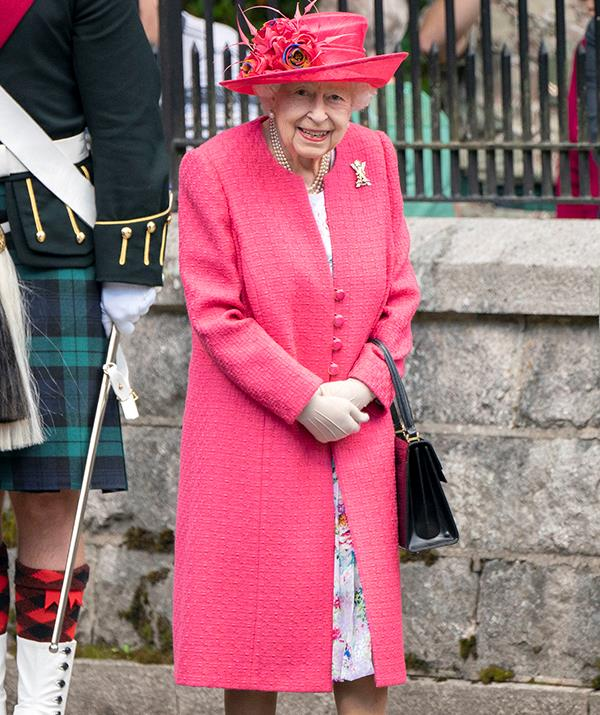 The Queen arrived in Balmoral earlier in August.