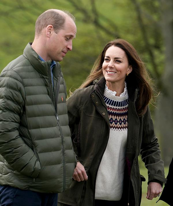 Prince William and Kate Middleton are believed to have joined the Queen at Balmoral.