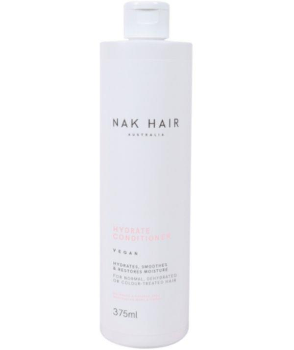 """Nak's conditioner has a thick consistency that smooths your hair and encourages longer-lasting colour. It's great for all skin types, and it helps to ease frizz and tangled hair.  <br><br> Shop Nak's Hair Hydrate Conditioner, $29.95 from Adore Beauty [here.](https://go.skimresources.com?id=105419X1569321&xs=1&url=https%3A%2F%2Fwww.adorebeauty.com.au%2Fnak%2Fnak-hair-hydrate-conditioner-375ml.html&sref=https%3A%2F%2Fwww.adorebeauty.com.au%2Fnak%2Fnak-hair-hydrate-conditioner-375ml.html