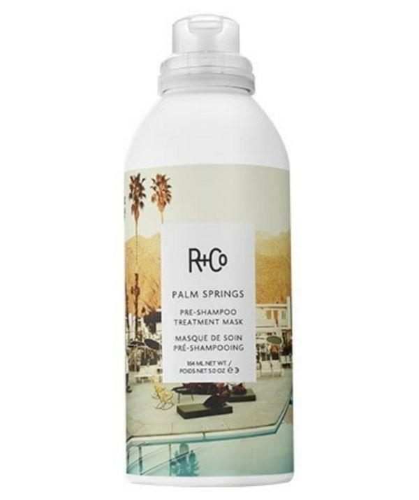 """Before your shampoo, this treatment will help recover heat styled, coloured and chemically processed hair. And its repairing qualities will soothe the strands and add shine.   <br><br> Shop R+Co Palm Springs Pre-Shampoo Treatment Mask, $49.00 from Adore Beauty [here.](https://go.skimresources.com?id=105419X1569321&xs=1&url=https%3A%2F%2Fwww.adorebeauty.com.au%2Fr-and-co%2Fr-co-palm-springs-pre-shampoo-treatment-mask.html&sref=https%3A%2F%2Fwww.adorebeauty.com.au%2Fr-and-co%2Fr-co-palm-springs-pre-shampoo-treatment-mask.htmlhttps://go.skimresources.com?id=105419X1569321&xs=1&url=https%3A%2F%2Fwww.adorebeauty.com.au%2Fr-and-co%2Fr-co-palm-springs-pre-shampoo-treatment-mask.html&sref=https%3A%2F%2Fwww.adorebeauty.com.au%2Fr-and-co%2Fr-co-palm-springs-pre-shampoo-treatment-mask.html
