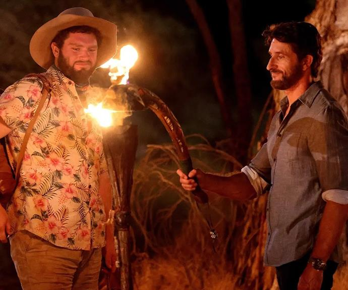 """**Gerald, Fire tribe - Episode 16** <br><br> The original members of the Brawn tribe began to turn on each other as Dani and Emmett worked to eliminate each other, but somehow it was Gerald who was sent packing. After playing both alliances against each other, George convinced the original Brains tribe members to vote Gerlad out. <br><br> There were no hard feelings though, Gerald writing on Instagram: """"When the writing is on the wall, you have to accept fate with a smile, embrace the future and what is to come."""""""