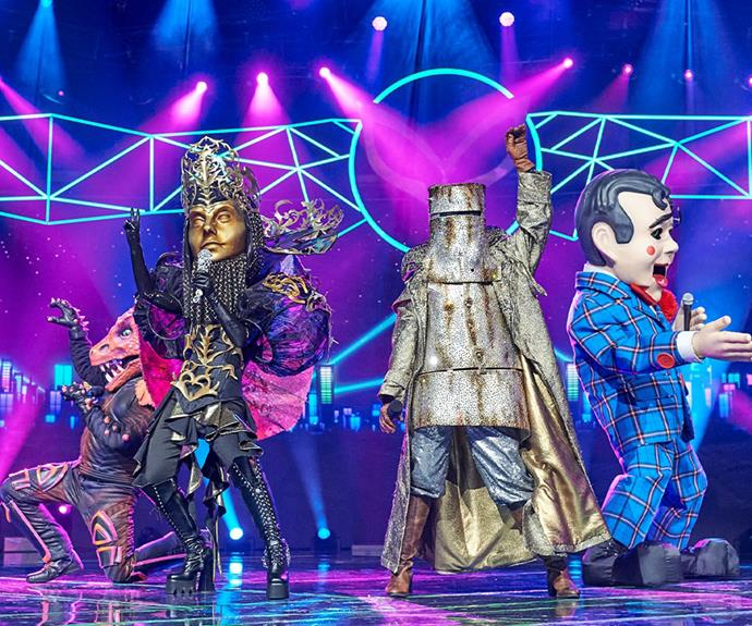 Contestants faced lockdown strife in the last season of *The Masked Singer* but this year the show filmed in Sydney.