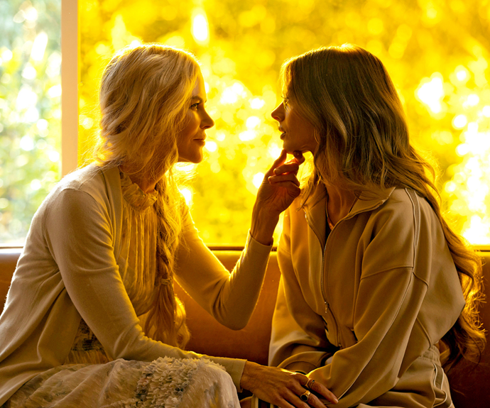 Samara as the troubled Jessica, opposite Nicole Kidman as wellness guru Masha.