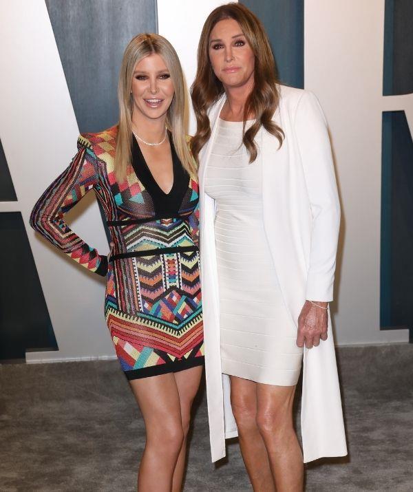 Sophia and Caitlyn attend the 2020 Vanity Fair Oscar Party.