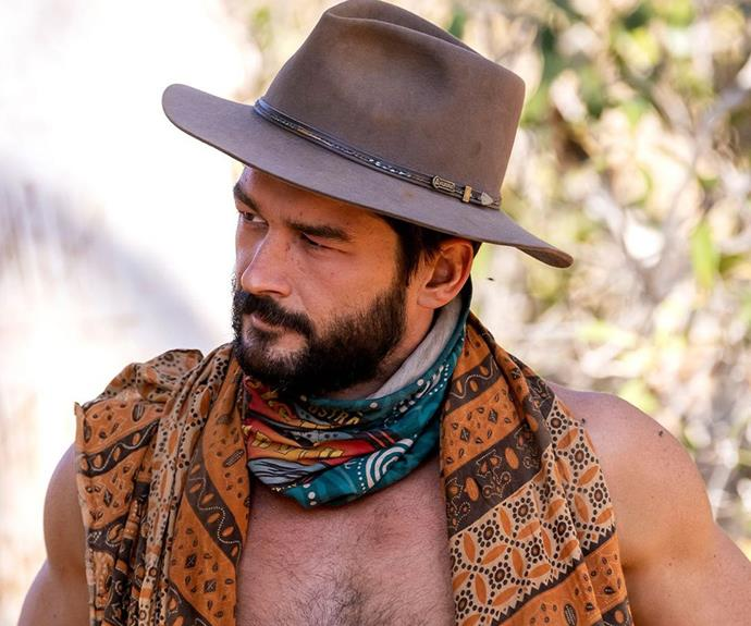 """**Emmett, Fire tribe - Episode 18** <br><br> It looked like Emmett was on the path to victory - that is, until George got involved. The allies-turned-rivals were both trying to get the other booted as they headed into tribal council, but it was George who managed to sway the votes and finally eliminate Emmett. <br><br> The offical *Survivor* Instagram wrote after Emmett's elimination: """"Unfortunately, the might of King George was too strong to contend with. We'll miss you and your yellow shorts, Emmett!"""""""