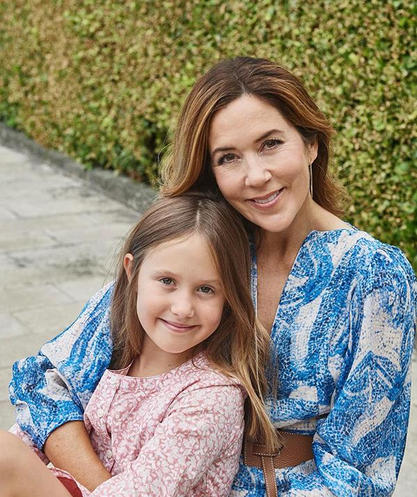 Princess Mary shares a special bond with her youngest daughter, Princess Josephine.