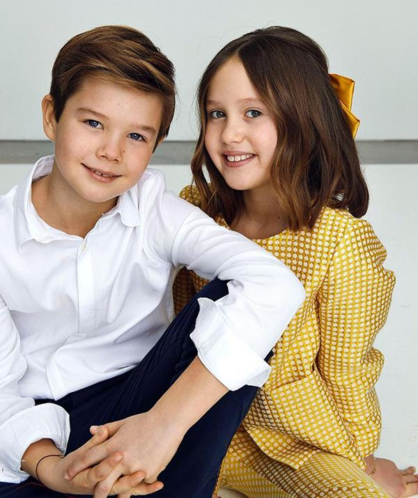 Prince Vincent and Princess Josephine turned 10 in Janaury 2021.