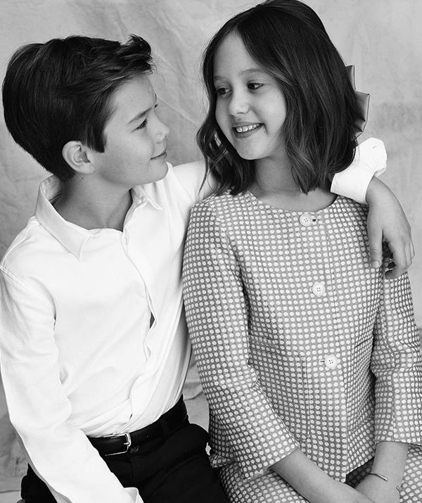 Vincent and Josephine are following in their siblings' footsteps for their education.
