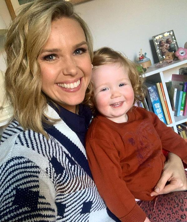 Edwina is expecting her secon child, and already shares daughter Molly with husband Neil Varcoe.