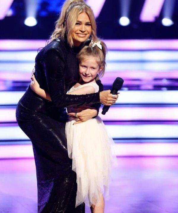 Maggie is a natural on stage just like her mother.