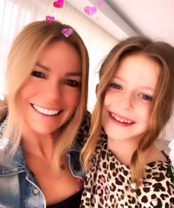 """Sonia posted this pic to celebrate Mother's Day. She wrote, """"Twinning! 👱🏻♀️Happy Mothers Day ladies 💕👯♀️."""""""