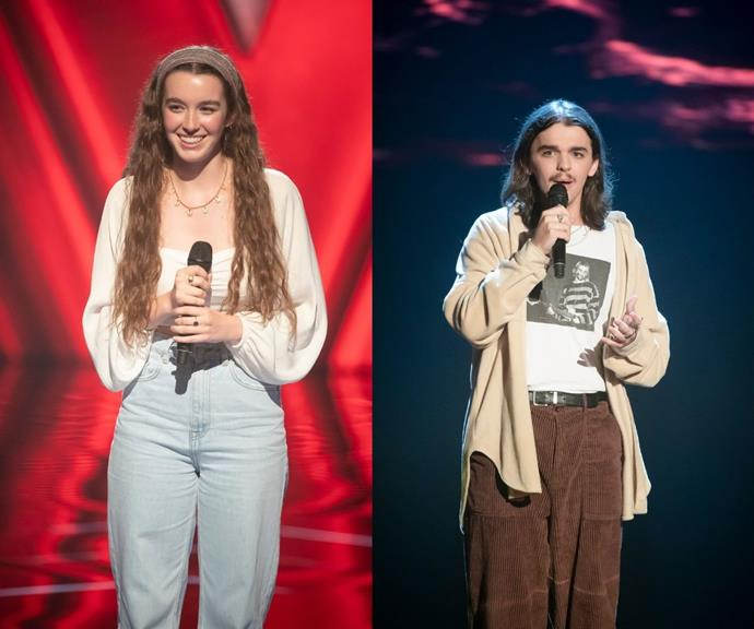 """**Jordan & Sian Fuller** <br><br> """"The singing siblings! I'm so glad Sian took the opportunity to say 'yes' to audition on the spot,"""" Sonia says. """"Her performances so far have been incredible."""""""