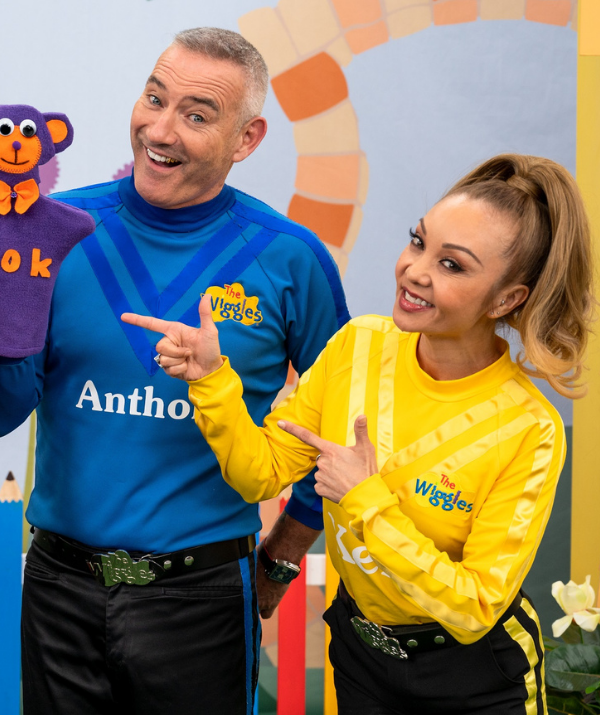 With starting salaries estimated at just $150,000 per year, the newbies' pay packets fall way short original Blue Wiggle Anthony Field - who's estimated to be worth $50 million!