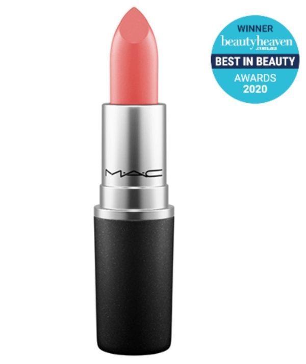 "Recreate Princess Eugenie's summer-ready coral lipstick with M.A.C Cosmetics' Lustre Lipstick, $30.00, in Good Form. You can shop the subtle but vibrant hue at Adore Beauty [here.](https://go.skimresources.com?id=105419X1569321&xs=1&url=https%3A%2F%2Fwww.adorebeauty.com.au%2Fmac-cosmetics%2Flustre-lipstick.html%3FistCompanyId%3D6e5a22db-9648-4be9-b321-72cfbea93443%26istFeedId%3D686e45b5-4634-450f-baaf-c93acecca972%26istItemId%3Diqixqlalw%26istBid%3Dtztx%26gclid%3DCjwKCAjw95yJBhAgEiwAmRrutCfCdpLU3mwFj0NWXkU4I6F7TmtCjpL6nBvWoGKL96Z6iW8jLHfAtRoCTXUQAvD_BwE&sref=https%3A%2F%2Fwww.adorebeauty.com.au%2Fmac-cosmetics%2Flustre-lipstick.html%3FistCompanyId%3D6e5a22db-9648-4be9-b321-72cfbea93443%26istFeedId%3D686e45b5-4634-450f-baaf-c93acecca972%26istItemId%3Diqixqlalw%26istBid%3Dtztx%26gclid%3DCjwKCAjw95yJBhAgEiwAmRrutCfCdpLU3mwFj0NWXkU4I6F7TmtCjpL6nBvWoGKL96Z6iW8jLHfAtRoCTXUQAvD_BwE|target=""_blank"")"