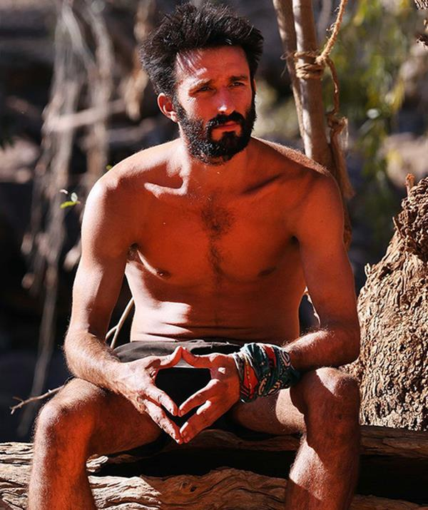 Andrew went into the competition having never watched *Survivor*.