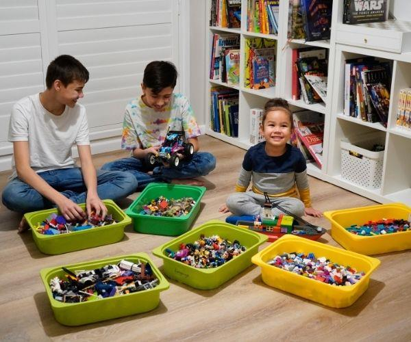 My kids love Lego too. (Image: supplied)