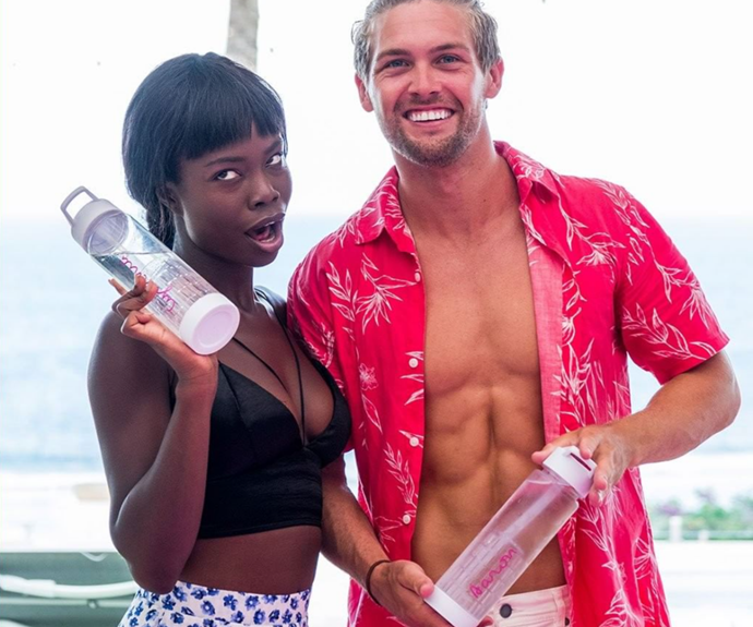 Forget romance, we just want matching Love Island bottles.