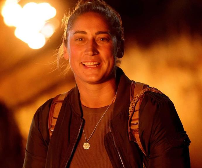 """**Dani, Fire tribe - Episode 21** <br><br> She was in it to win it, but Dani couldn't save herself from being eliminated at one of the most tense tribal councils to date. When the first vote resulted in a three-way tie between her, Cara and Flick, votes had to be cast again and Dani came out on the bottom. She was sent home - but at least she won a car, right?! <br><br> Taking to Instagram after her elimination, Dani wrote: """"I'm absolutely stoked having made it to the top 6 and lasting 43 days in the Australian outback… Big thanks to the entire cast and crew who made this amazing experience possible!"""""""