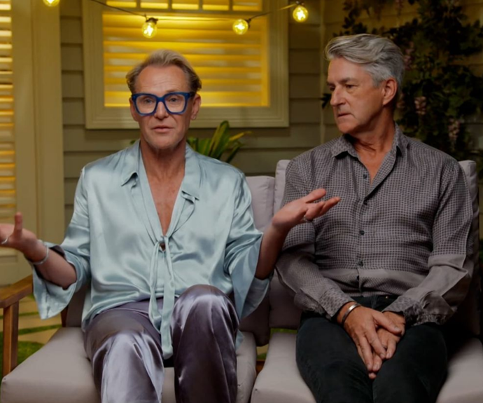 Mitch and Mark were upset by the scandal - but that doesn't mean they've held a grudge.