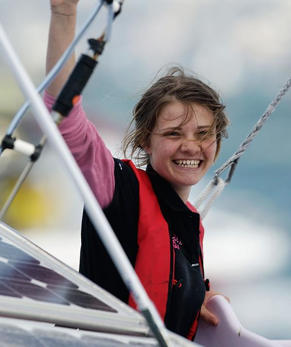 Jessica rose to fame in 2010 when she successfully sailed around the world solo.
