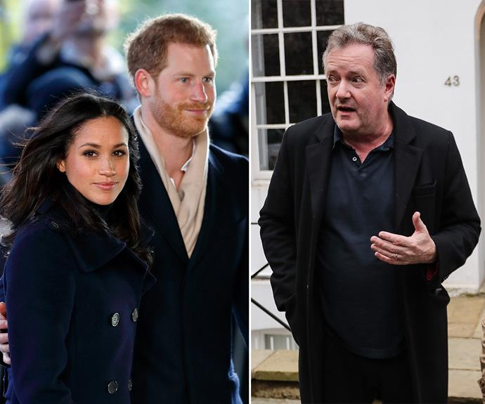Piers Morgan has been attacking Meghan Markle and Prince Harry for years now.