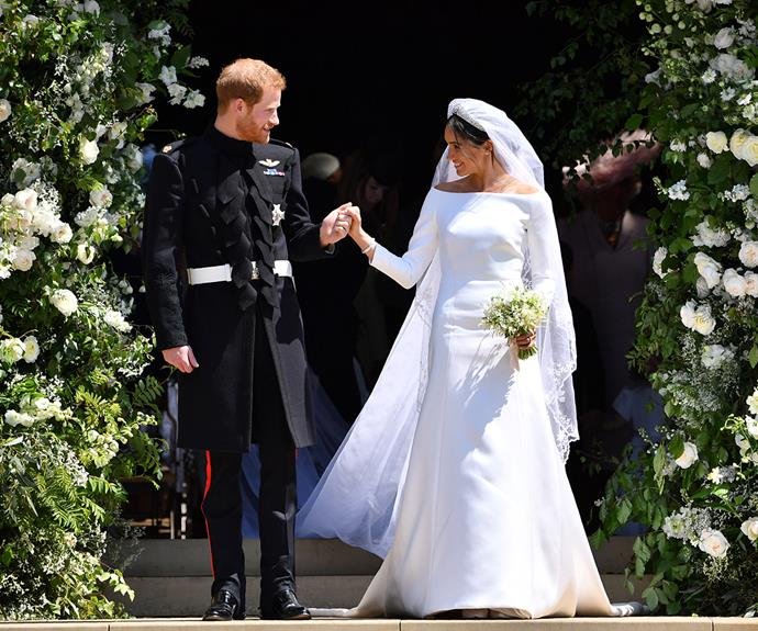 Piers was not invited to the couple's royal wedding in 2018.