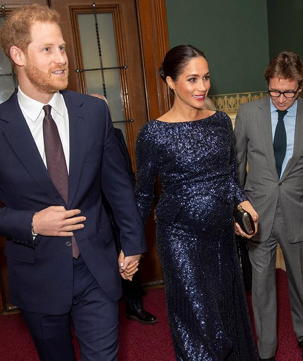 Meghan revealed in a 2021 interview that she was experiencing thoughts of suicide when this photo was taken.