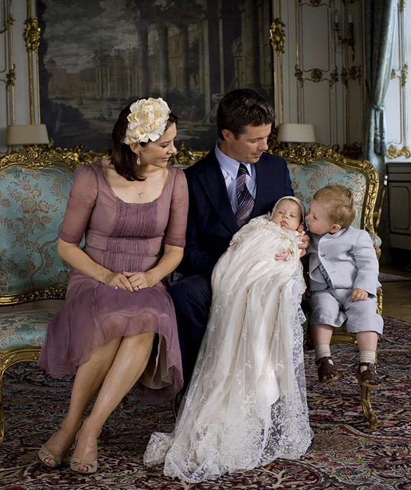 """Then Mary and Frederik welcomed their [second child and first daughter, Princess Isabella](https://www.nowtolove.com.au/royals/international-royals/who-is-princess-isabella-of-denmark-68743 target=""""_blank""""). Just look at the way her father cradled her on her christening day!"""