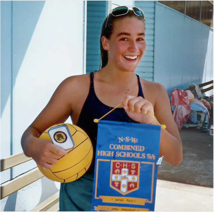 Lane was a promising Olympic water polo star.