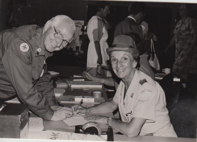 Yvonne worked for the Red Cross for more than two decades.