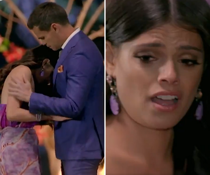 Brooke was shattered in the final episode of The Bachelor.