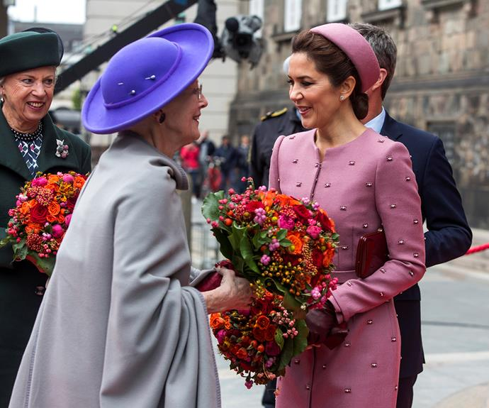 Princess Mary is said to share a close bond with her mother-in-law.