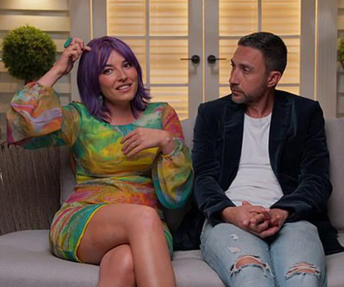 Tanya said her and husband Vito would struggle in real life to be friends with Ronnie and Georgia.