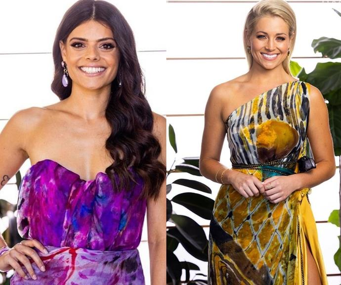 The Bachelor dress theory says that the person in the lighter dress is the winner - but Brooke had a small say in what she wore.