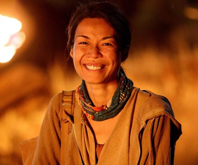 """**Wai, Fire tribe - Episode 22** <br><br> After an incredible run on Survivor, Wai was finally eliminated when Flick played an immunity idol that saved her at tribal council. The four remaining Brains were originally gunning for the only remaining Brawn tribe, but when George guessed she may play an immunity idol he and Cara decided to vote Wai out instead. <br><br> Wai was proud of making it to the final five, writing on Instagram: """"I can't begin to articulate what an incredible journey this has been. From being 100% certain I was going home on Day 2 to making it all the way to Day 44 (and wearing an Immunity Necklace around my neck!) - this experience has just been absolutely extraordinary."""""""