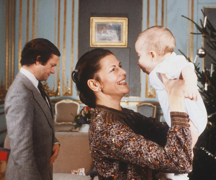 Prince Carl Philip of Sweden, Duke of Värmland was born on May 13, 1979, to King Carl XVI Gustaf and Queen Silvia. The couple's second child and only son was even cute as a baby.