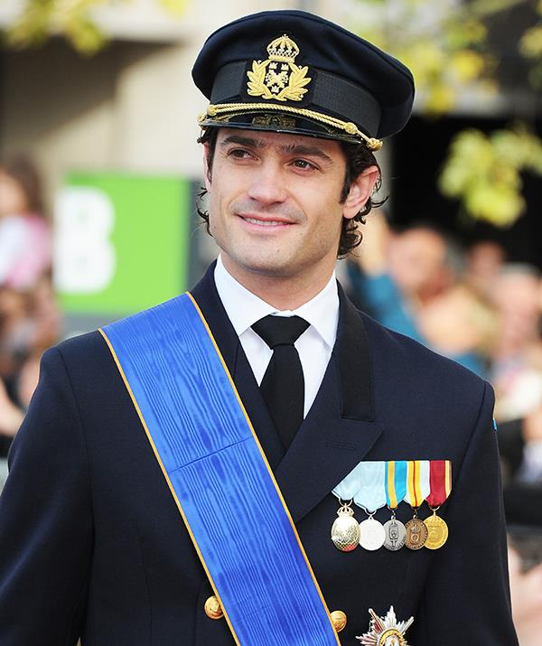 Being a royal means plenty of formal events, but as this 2012 snap proves, Prince Carl Philip knows how to look suave in a military uniform.