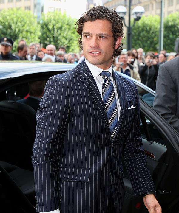 At 29, Prince Carl Philip looked strikingly similar to Hollywood actor Henry Cavill, who famously played Superman in *Man of Steel.*