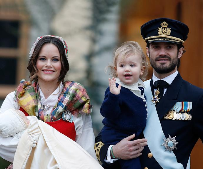 In 2017 he became a dad again, he and Sofia welcoming their second son Prince Gabriel Carl Walter.