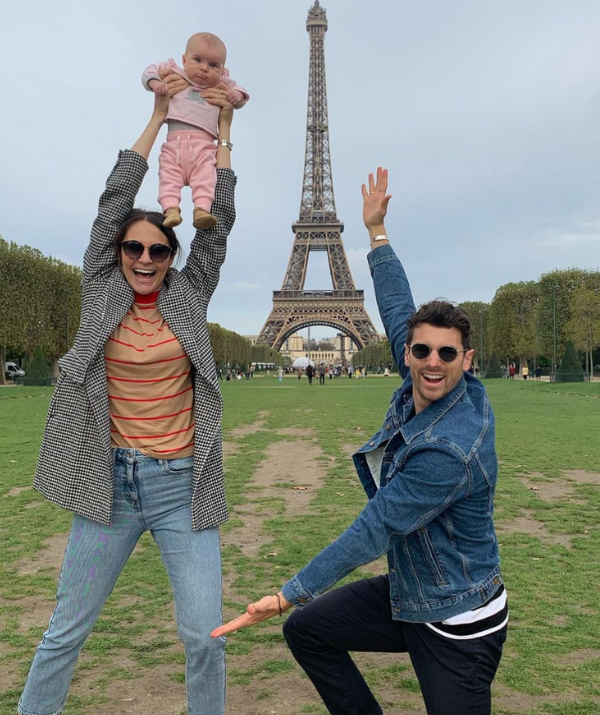 """Ever the comedian, *The Bachelor Australia* star Laura Byrne shared a series of fun snaps to commemorate the special occasion for Matty J - father to Marlie-Mae and Lola. <br><br> """"Happy Father's Day to this spectacular specimen of a Daddy. WE LOVE YOU, you big silly weirdo,"""" Laura wrote. <br><br> """"I love doing this parenting gig with you. Let's have more… but like also let's not, and get some sleep."""""""