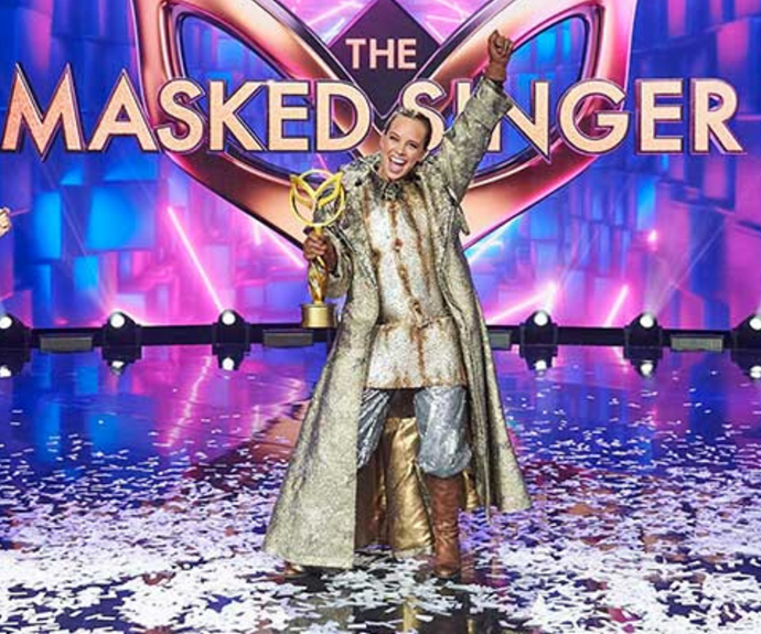 Bonnie wins *The Masked Singer.*