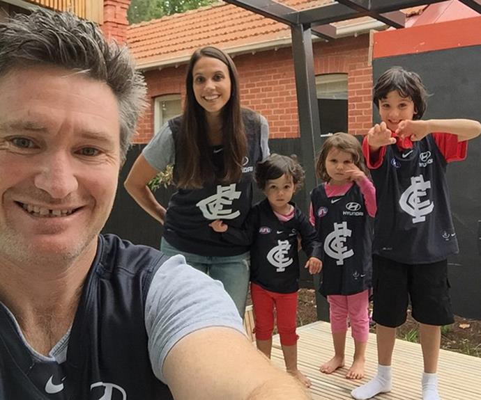 If dad's a Carlton fan, the whole family must be Carlton fans!