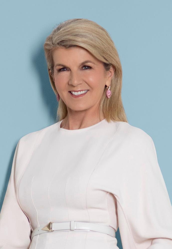 The Hon. Julie Bishop, Chancellor Australian National University, Former Foreign Minister of Australia.