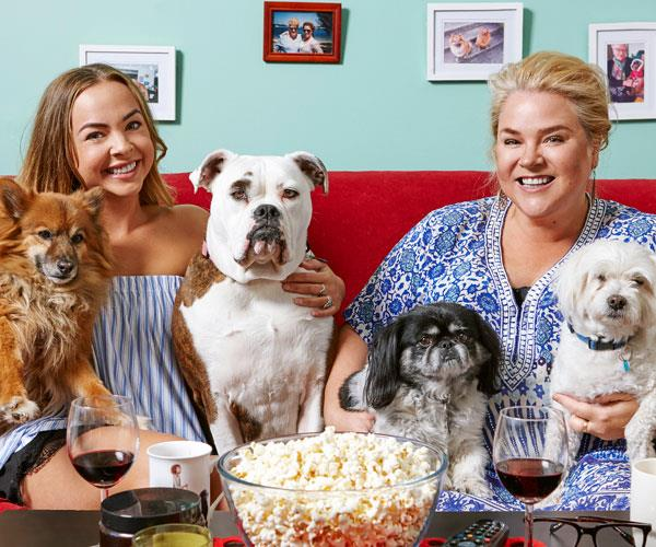 Angie and Yvie burst onto our screens in the first season of Gogglebox.