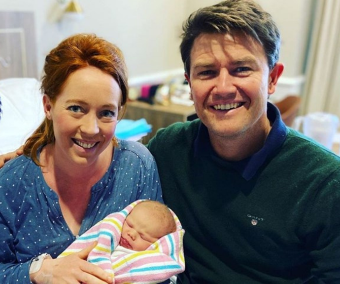 Alex and Bonnie welcomed Max in mid-August.