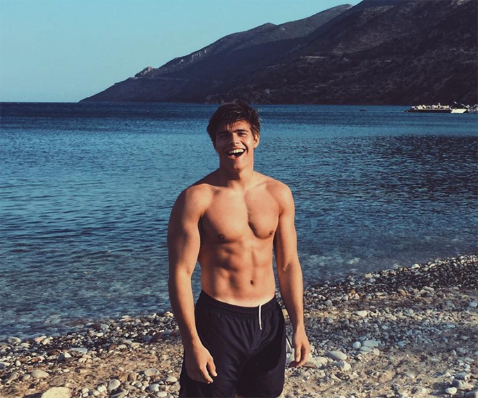 **Arthur Chatto** <br><br> He looks like a male model, but 22-year-old Arthur is also a world-record athlete and a personal trainer. In late 2020 he revealed that he and his rowing team had completed the GB Row Challenge, a gruelling row around Britain, becoming the youngest team to do so. <br><br> He's the grandson of Queen's Elizabeth sister, the late Princess Margaret, and a distant relative of William and Harry.