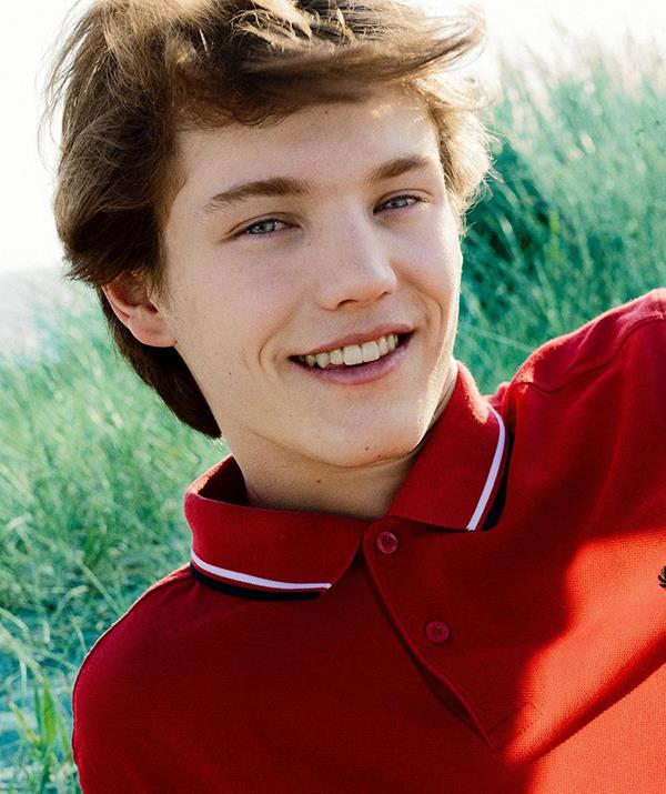 **Prince Felix of Denmark** <br><br> Felix, 19, is Nikolai's younger brother and shares his regal good looks. Unlike his big brother, Felix hasn't gone into modelling (yet!) and instead has focused on his royal duties, passing his entry exam to the Royal Danish Military Academy earlier this year.